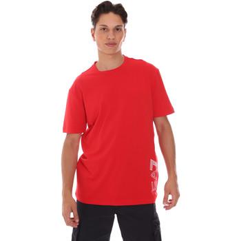 textil Hombre Camisetas manga corta Ea7 Emporio Armani 3KPT23 PJ9TZ Rojo