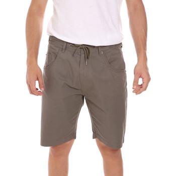 textil Hombre Shorts / Bermudas Key Up 2P025 0001 Verde