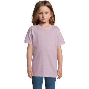 textil Niños Camisetas manga corta Sols REGENT FIT CAMISETA MANGA CORTA Rosa