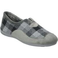Zapatos Hombre Pantuflas Cosdam ZAPATILLAS DE CASA  13685 CABALLERO GRIS Gris