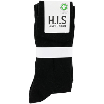 Accesorios Hombre Calcetines H.i.s Pack x5 Socks Negro