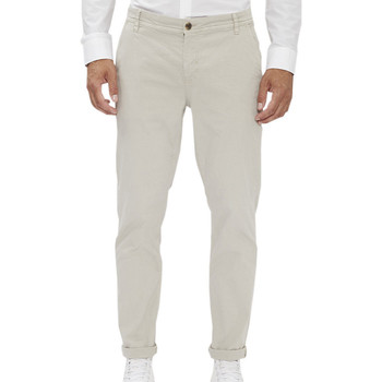 textil Hombre Pantalones chinos Paname Brothers  Gris