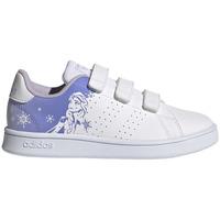 Zapatos Niños Running / trail adidas Originals ADVANTAGE FROZEN DISNEY BLANCO Blanco