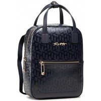 Bolsos Bolso Tommy Hilfiger Iconic Tommy Backpack Mono Negros
