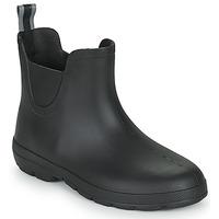Zapatos Mujer Botas de agua Isotoner 93701 Negro