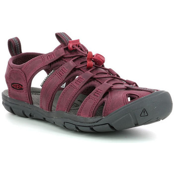 Zapatos Mujer Sandalias Keen Clearwater Leat Burdeos