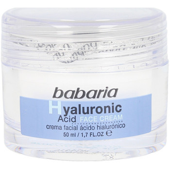 Belleza Hidratantes & nutritivos Babaria Hyaluronic Acid Crema Facial Ultrahidratante