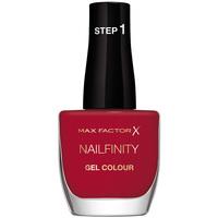 Belleza Mujer Esmalte para uñas Max Factor Nailfinity 310-red Carpet Ready