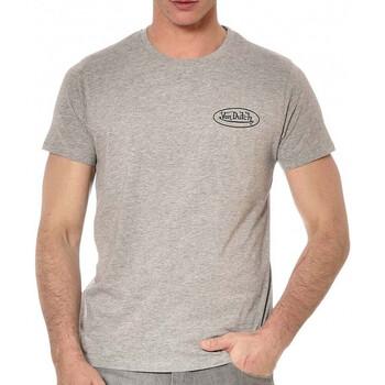 textil Hombre Camisetas manga corta Von Dutch  Gris