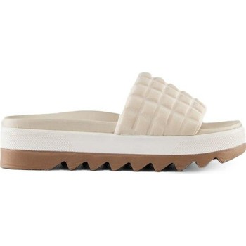 Zapatos Mujer Zuecos (Mules) Cougar Perla Embossed Lycra Oyster