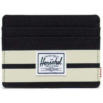 Bolsos Cartera Herschel Herschel Charlie RFID Black/Birch Stripe