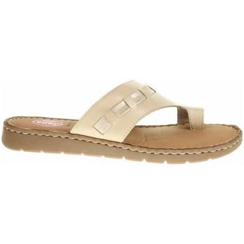 Zapatos Mujer Chanclas Jana 882710826360 Crema
