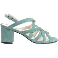Zapatos Mujer Sandalias Gennia SOFIA Sandalias Tacón Piel Ante Aguamarina Otros