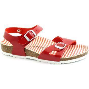 Zapatos Niños Sandalias Birkenstock BIR-RRR-1012720-SR Rosso