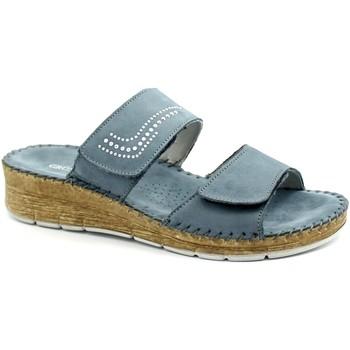 Zapatos Mujer Zuecos (Mules) Grunland GRU-E21-CI2944-BL Blu