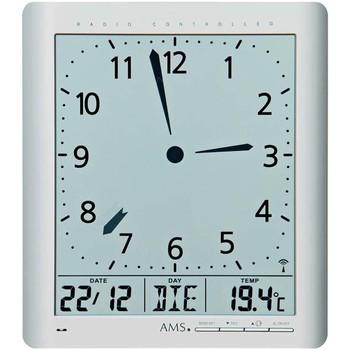 Relojes & Joyas Relojes digitales Ams 5898, Quartz, Grey, Digital, Modern Gris