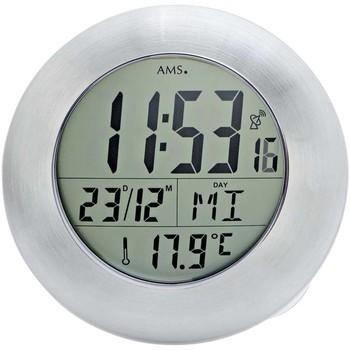 Relojes & Joyas Relojes digitales Ams 5929, Quartz, Grey, Digital, Modern Gris