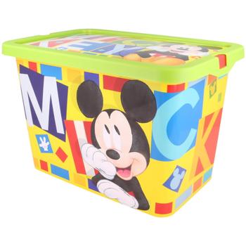 Casa Niños Baúles, cajas de almacenamiento Disney 2304 Amarillo