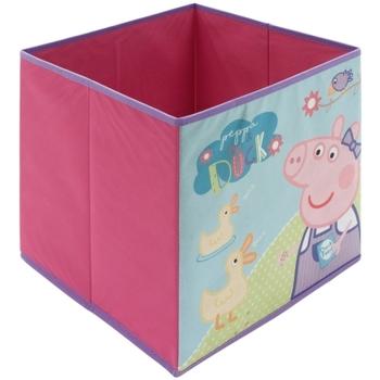 Casa Niños Baúles, cajas de almacenamiento Peppa Pig PP12234 Rosa