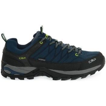 Zapatos Hombre Senderismo Cmp Rigel Low Negros, Azul marino