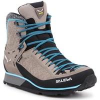 Zapatos Mujer Senderismo Salewa WS Mtn Trainer 2 Winter Gtx Beige