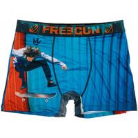 Ropa interior Hombre Boxer Freegun  Azul