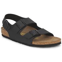 Zapatos Hombre Sandalias Birkenstock MILANO Negro