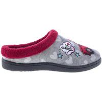 Zapatos Mujer Pantuflas Plumaflex By Roal Zapatillas De Casa Roal 12213 Coche Gris
