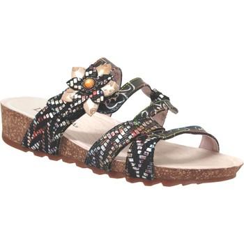 Zapatos Mujer Zuecos (Mules) Laura Vita Brcyano 51 Negro multi