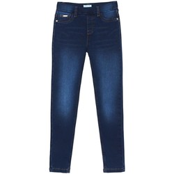 textil Niña Vaqueros slim Mayoral Pantalon cerrado tejano basico Azul