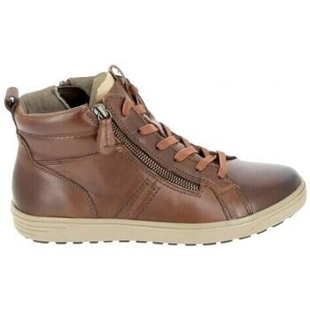Zapatos Mujer Zapatillas altas Jana Boots 25202 Cognac Marrón