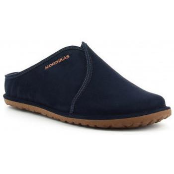 Zapatos Hombre Pantuflas Nordikas 1285 bleu