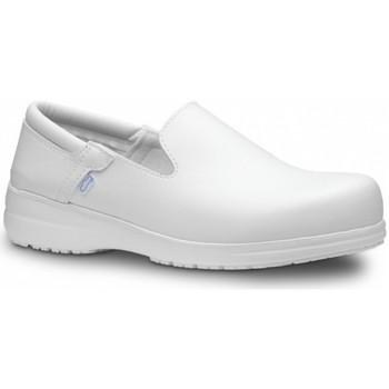 Zapatos Hombre Slip on Feliz Caminar Zapato Laboral SENSAI - Blanco