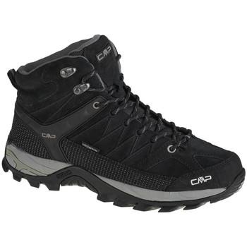 Zapatos Hombre Senderismo Cmp Rigel Mid Noir