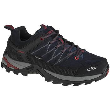 Zapatos Hombre Senderismo Cmp Rigel Low Bleu marine