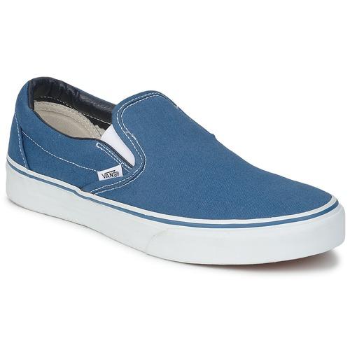 Zapatos promocionales Vans CLASSIC SLIP ON Navy  Descuento de la marca