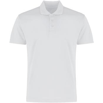 textil Hombre Polos manga corta Kustom Kit KK455 Blanco