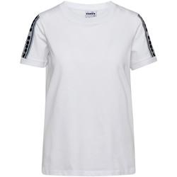 textil Mujer Camisetas manga corta Diadora 502175812 Blanco