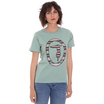 textil Mujer Camisetas manga corta Trussardi 56T00371-1T005228 Verde