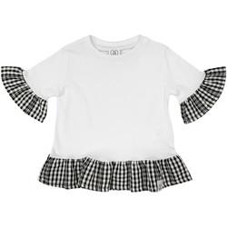 textil Niña Camisetas manga corta Naturino 6001011 01 Blanco