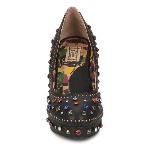 Negro Zapatos L'fire Tacón Miss De m8w0nN