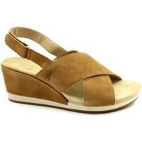 Zapatos Mujer Sandalias Benvado BEN-RRR-43002007-CU Marrone