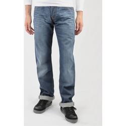 textil Hombre Vaqueros rectos Lee Flint L702RNSM azul