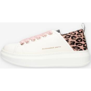 Zapatos Mujer Zapatillas bajas Alexander Smith E113211 Rosado