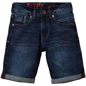 textil Hombre Shorts / Bermudas Petrol Industries Bullseye AZUL OSCURO