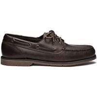 Zapatos Hombre Zapatos náuticos Sebago Foresider MARRON OSCURO