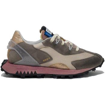 Zapatos Mujer Multideporte Run Of ZAPATILLA RUN OF AVA BEIGE & PINK MUJER Beige