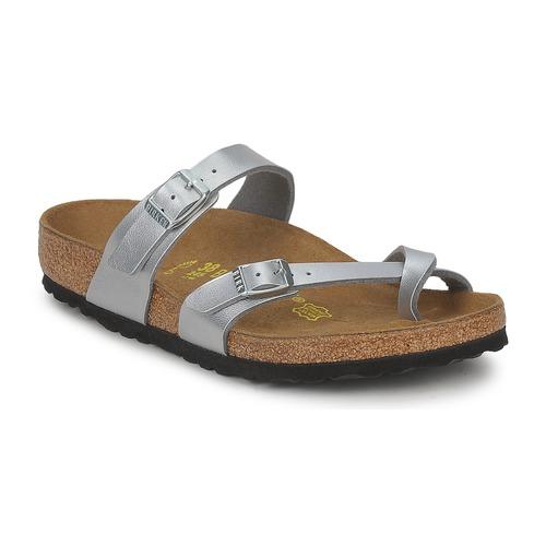 Casual salvaje Zapatos especiales Birkenstock MAYARI Plata