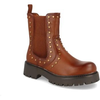 Zapatos Mujer Botines Ainy 4102 Camel