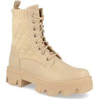 Zapatos Mujer Botines Ainy 9390 Beige